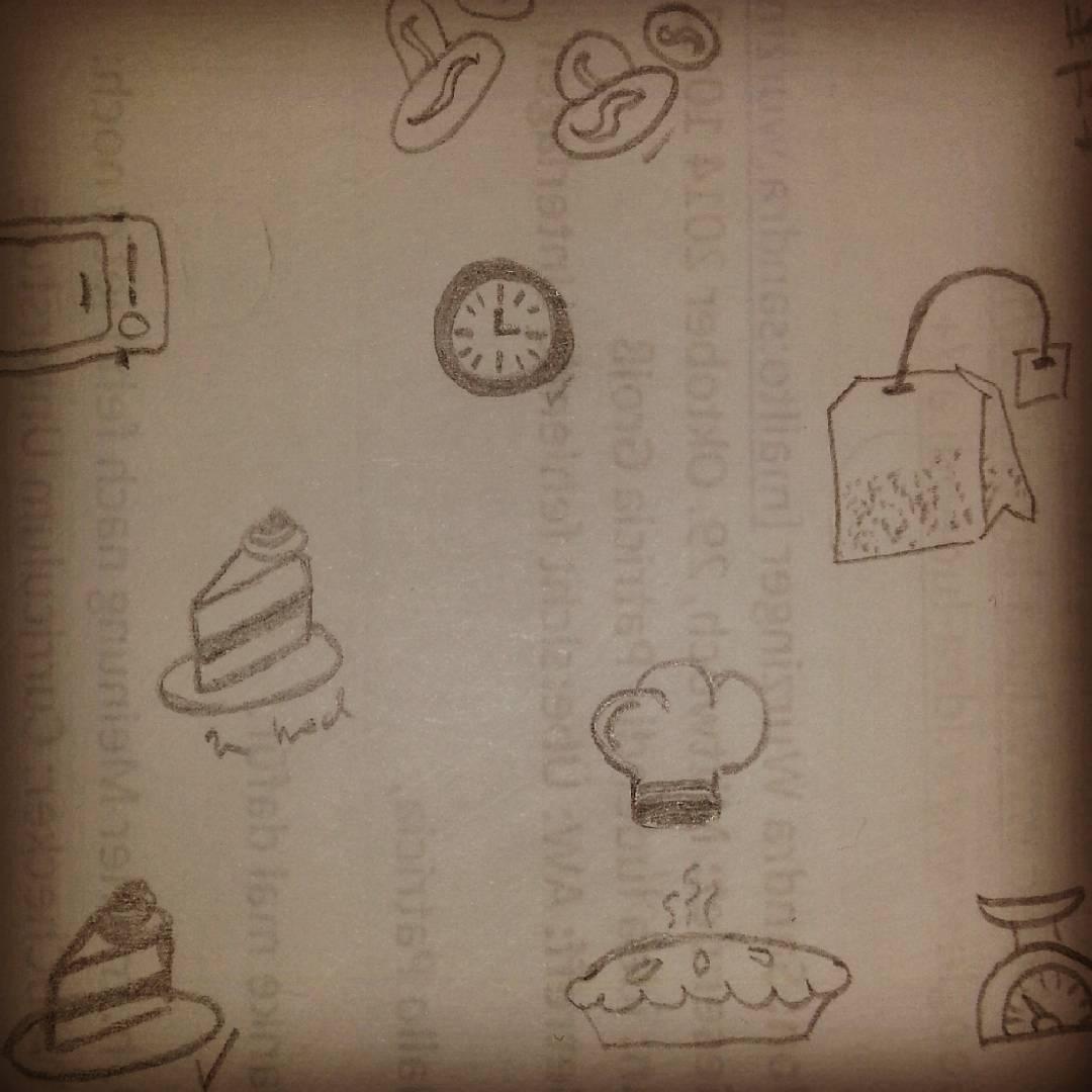 Und noch ein paar Doodles die es auf meine Häferl schaffen werden